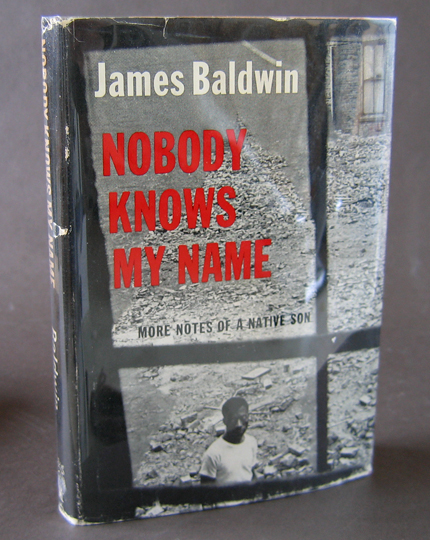 jazzfirst books nobody knows my more notes of a native son by james baldwin signed